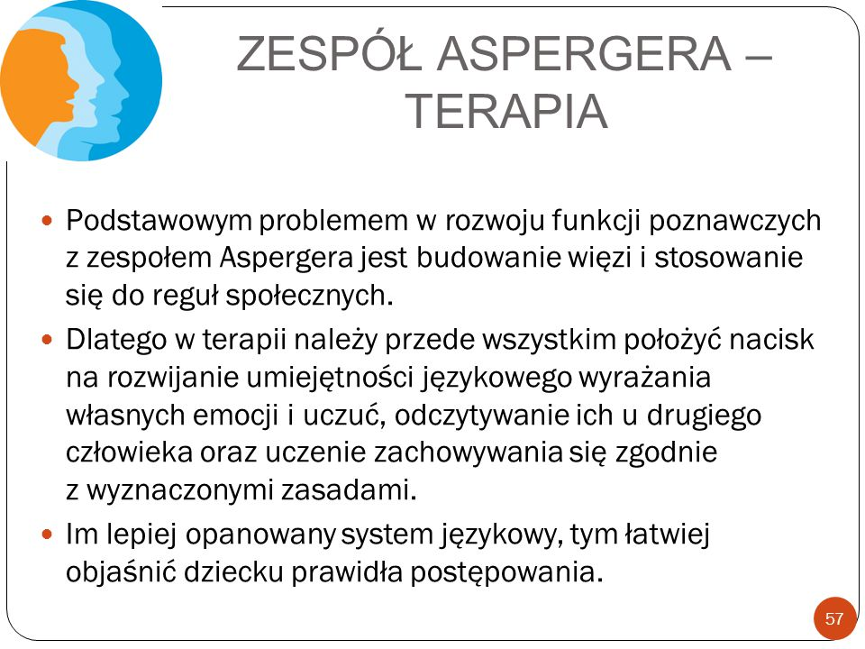 ZESPÓŁ ASPERGERA – TERAPIA