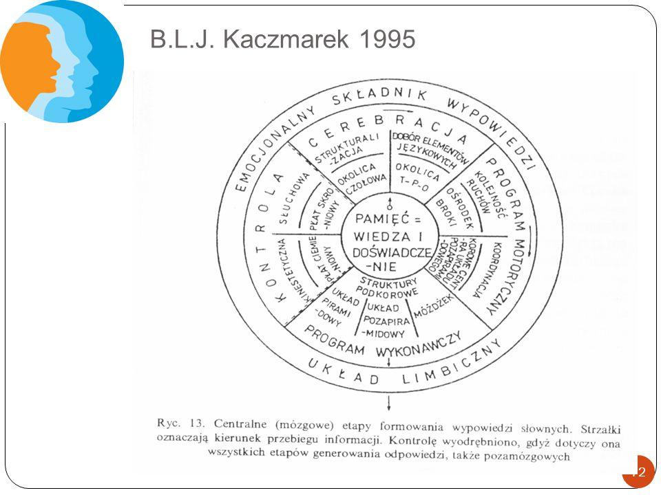 B.L.J. Kaczmarek 1995