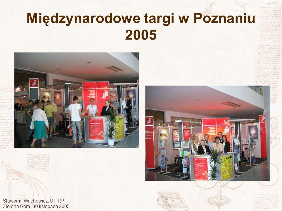 Międzynarodowe targi w Poznaniu 2005