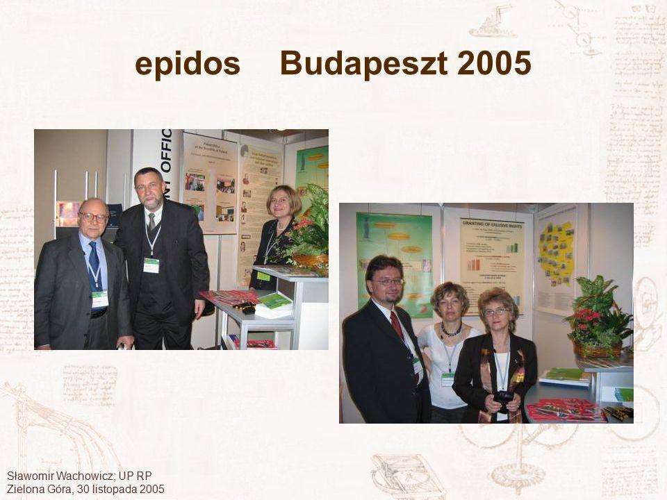 epidos Budapeszt 2005 Sławomir Wachowicz; UP RP