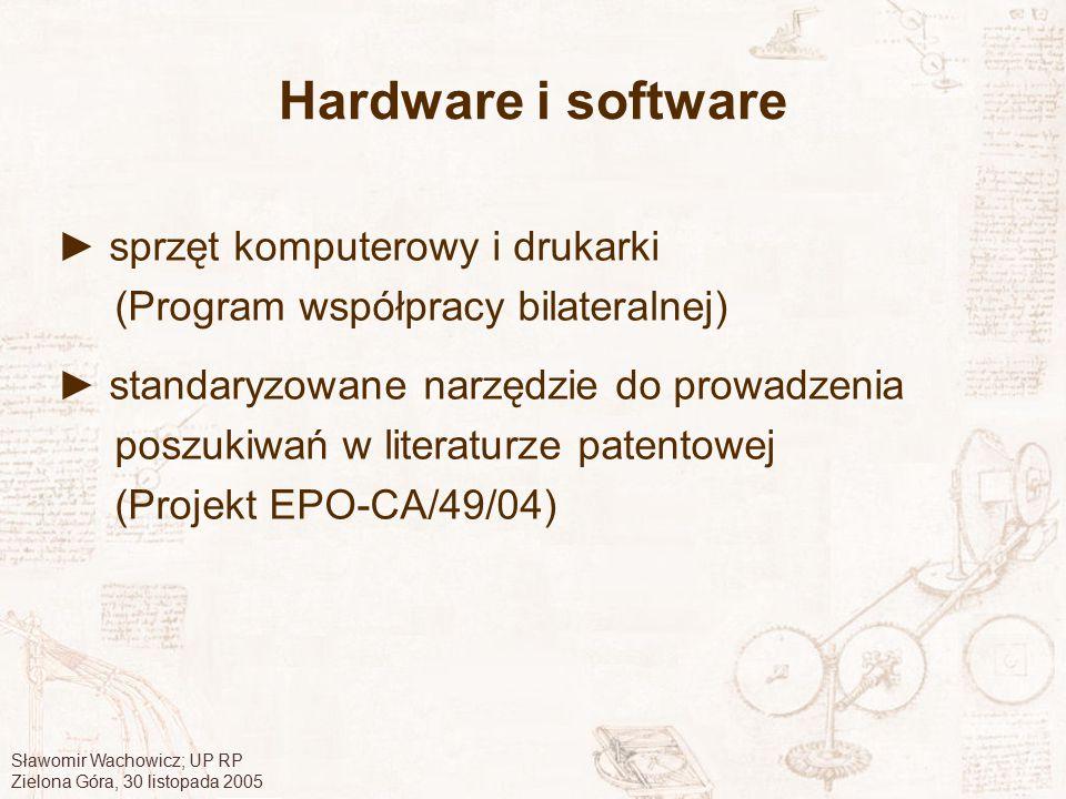 Hardware i software ► sprzęt komputerowy i drukarki