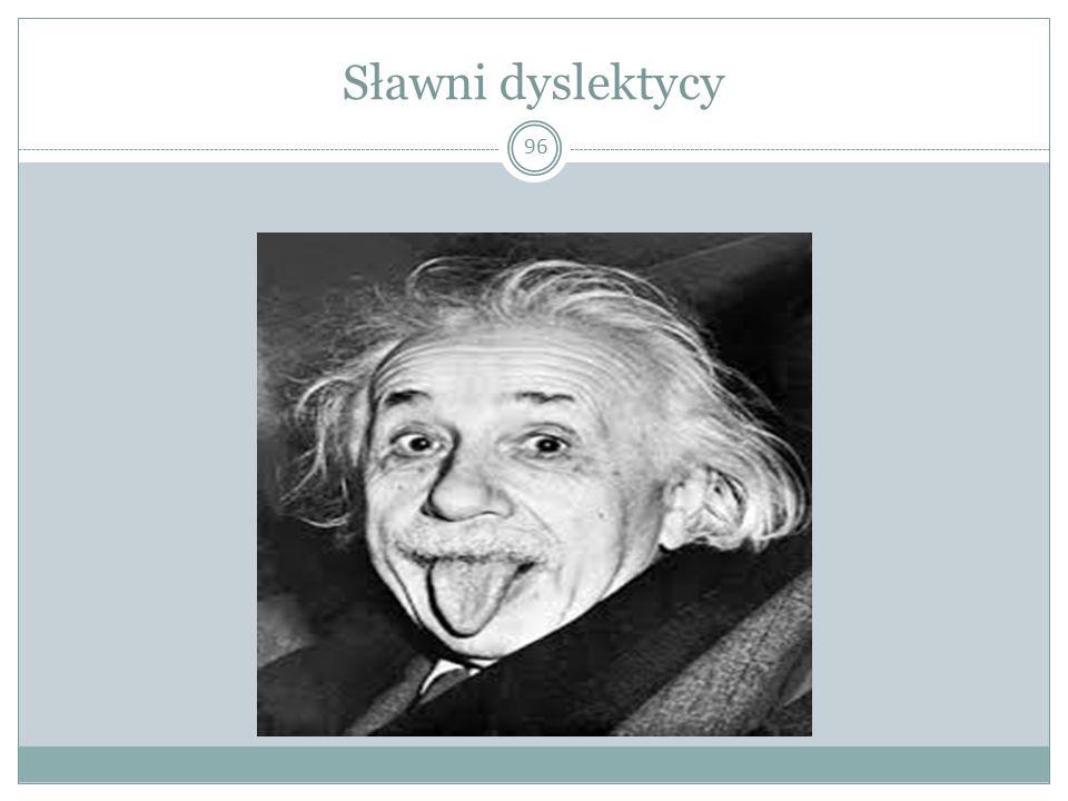 Sławni dyslektycy