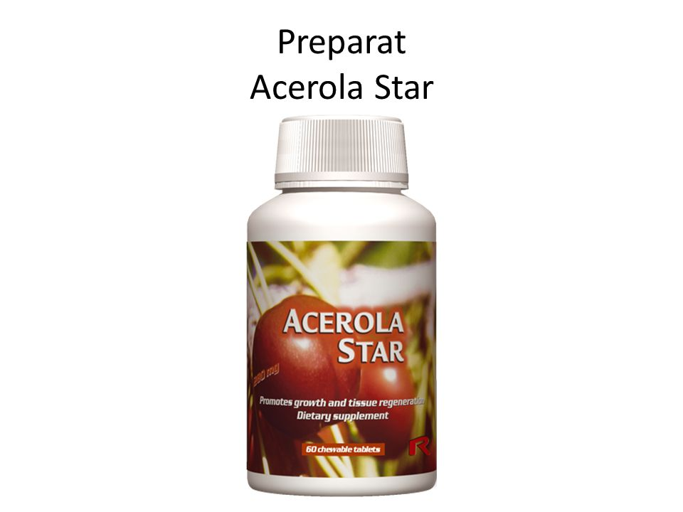Preparat Acerola Star