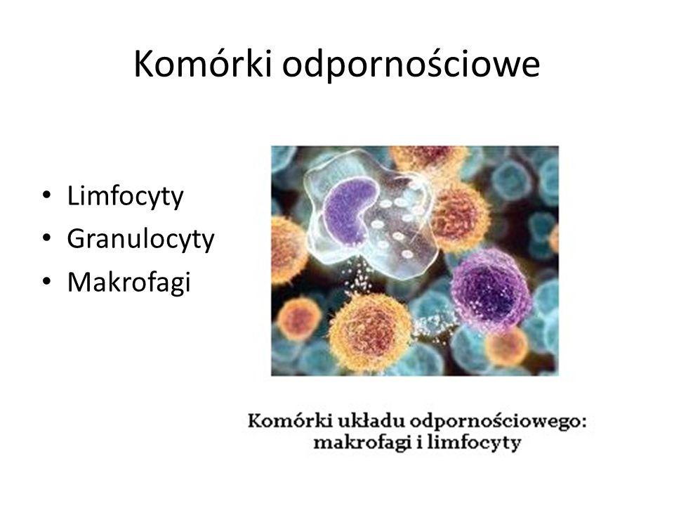 Komórki odpornościowe