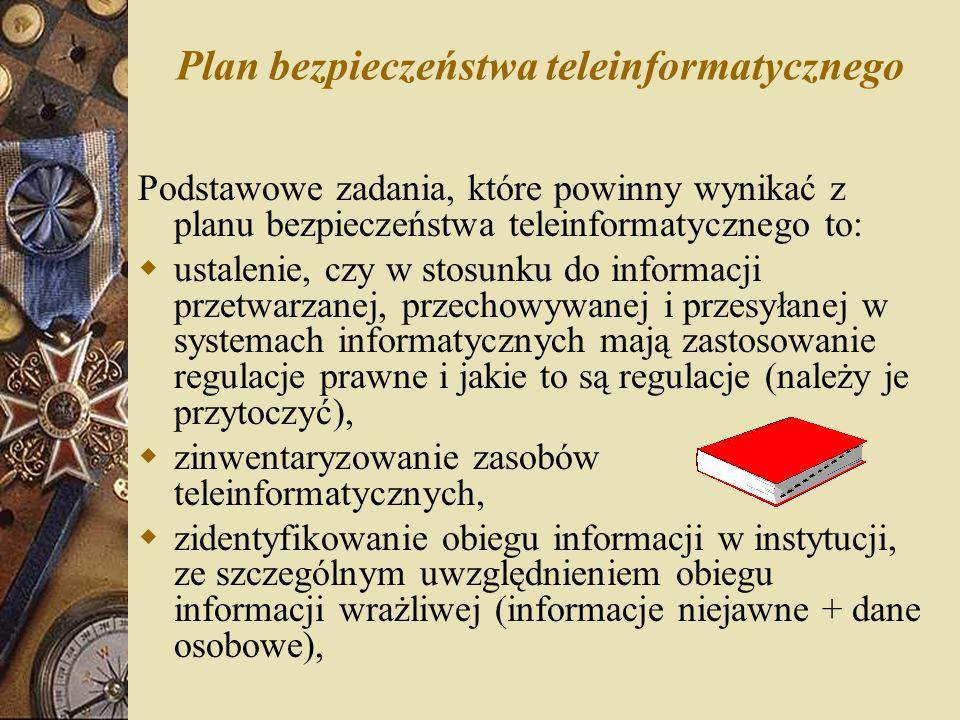 Plan bezpieczeństwa teleinformatycznego