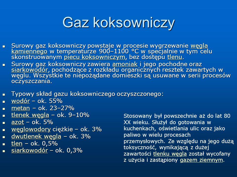 Gaz koksowniczy