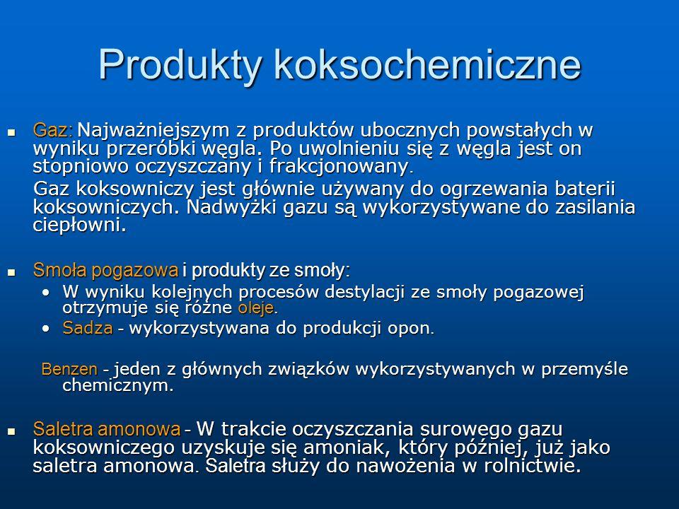 Produkty koksochemiczne