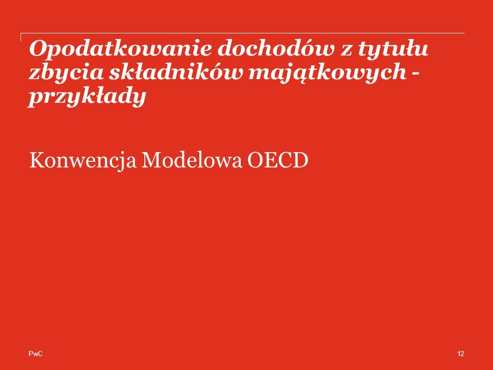 Konwencja Modelowa OECD
