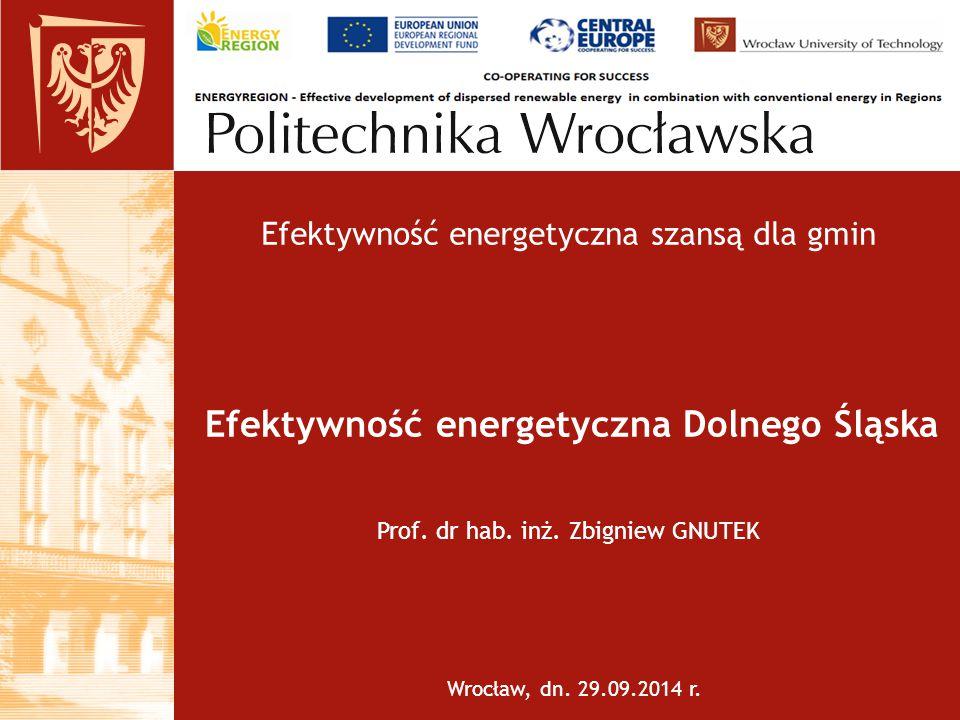 Efektywność energetyczna Dolnego Śląska