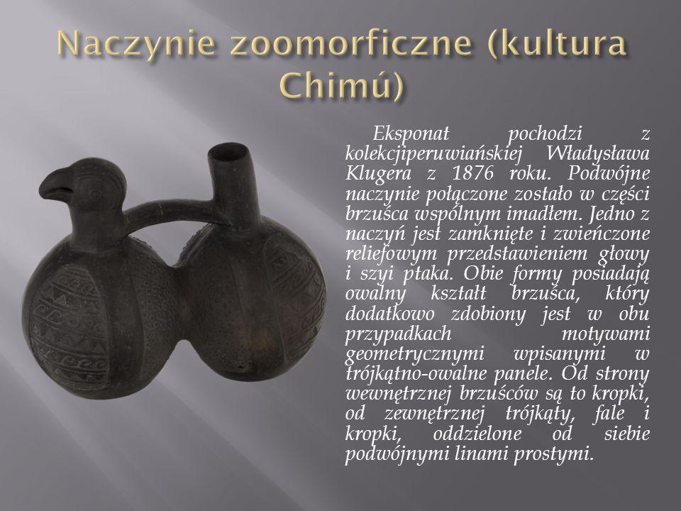 Naczynie zoomorficzne (kultura Chimú)