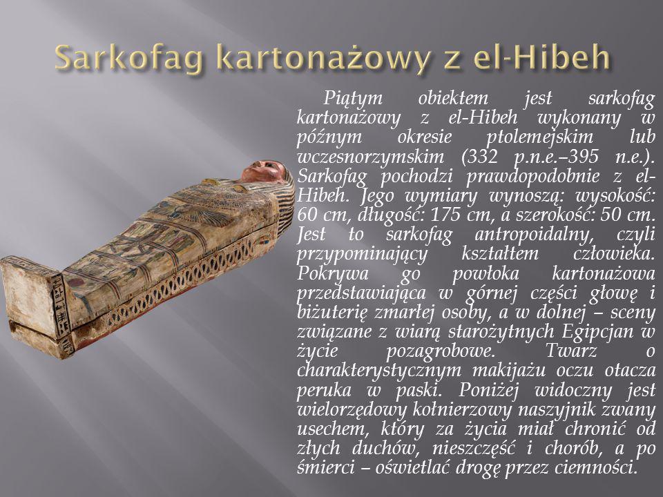 Sarkofag kartonażowy z el-Hibeh