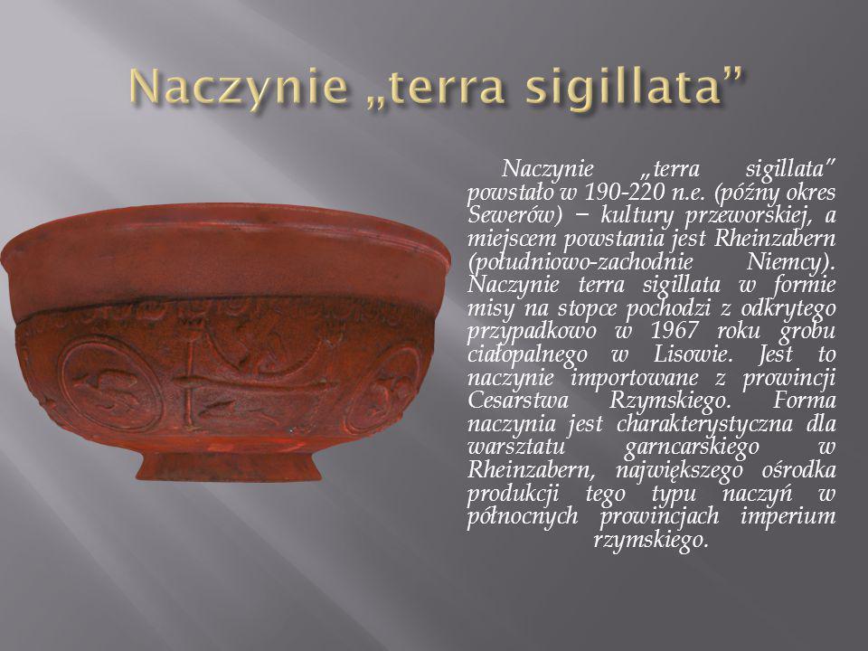 """Naczynie """"terra sigillata"""