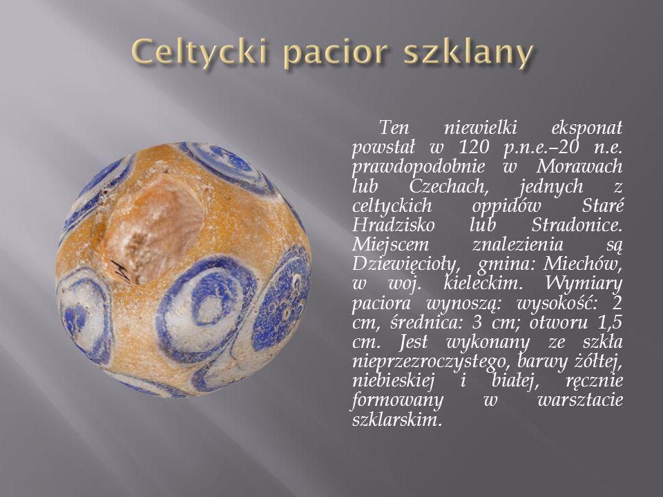 Celtycki pacior szklany