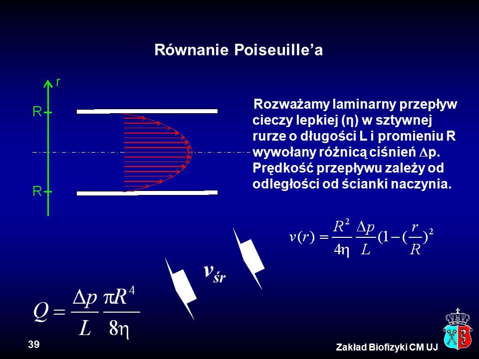 Równanie Poiseuille'a