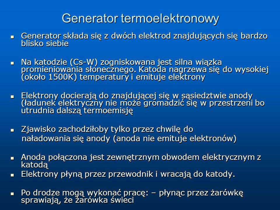 Generator termoelektronowy