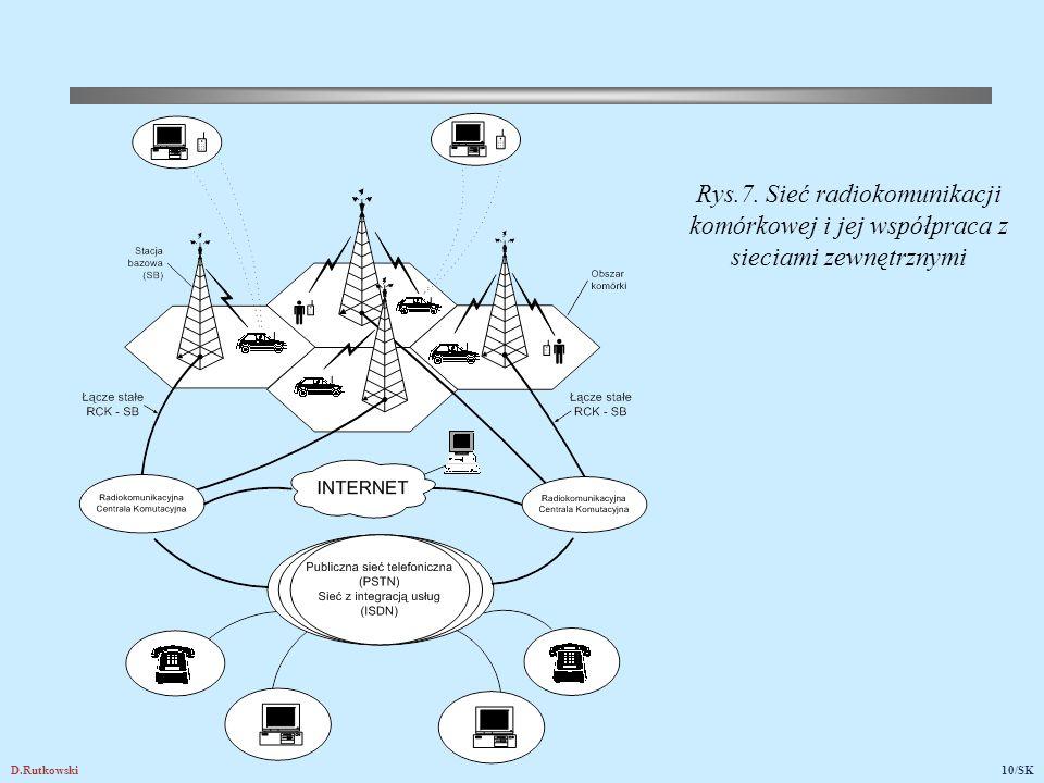 Rys.8. Stacje bazowe umieszczone: (a) w środku komórek, (b) w wierzchołkach