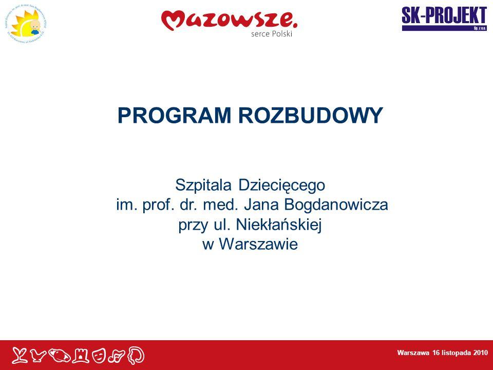 im. prof. dr. med. Jana Bogdanowicza przy ul. Niekłańskiej