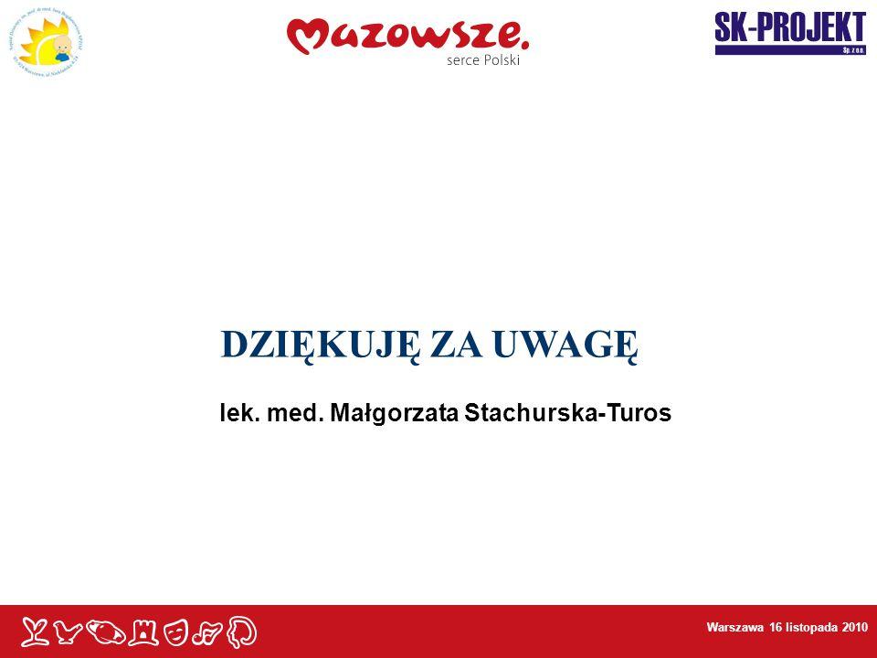 lek. med. Małgorzata Stachurska-Turos