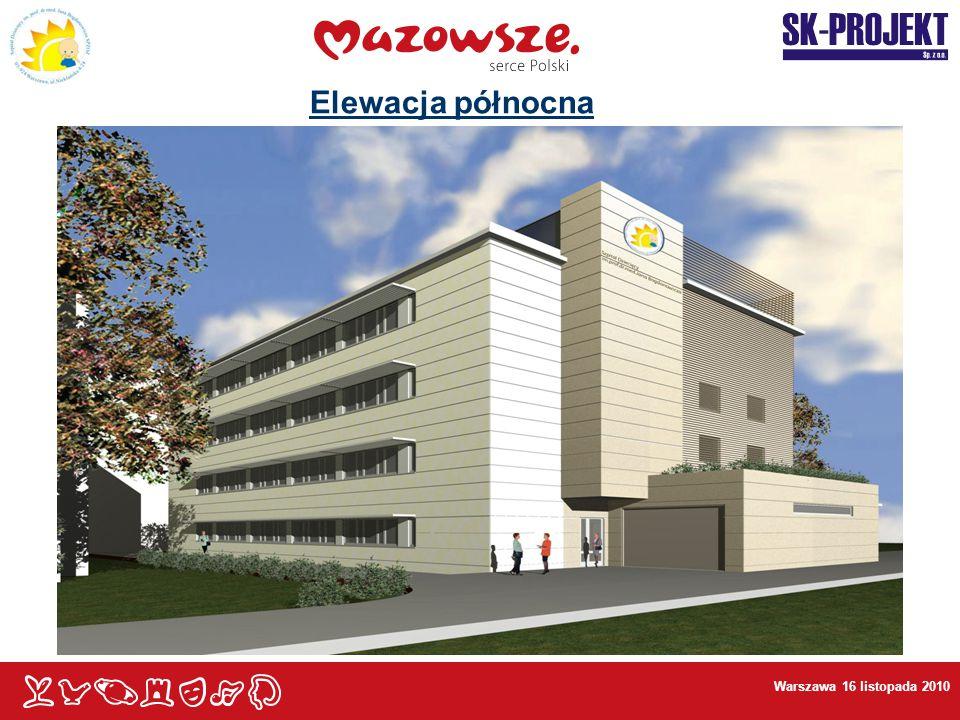 Elewacja północna Warszawa 16 listopada 2010