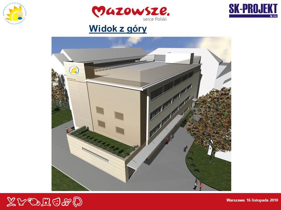 Widok z góry Warszawa 16 listopada 2010