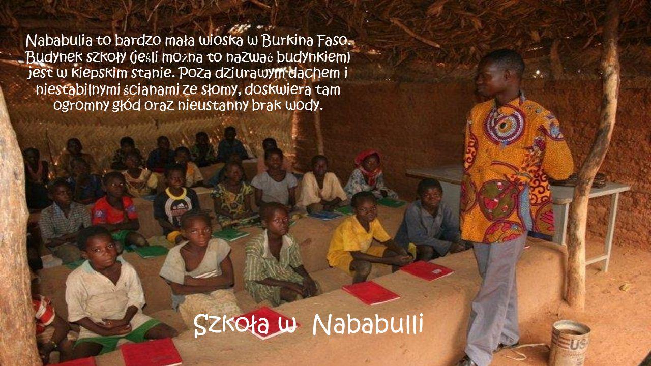 Nababulia to bardzo mała wioska w Burkina Faso