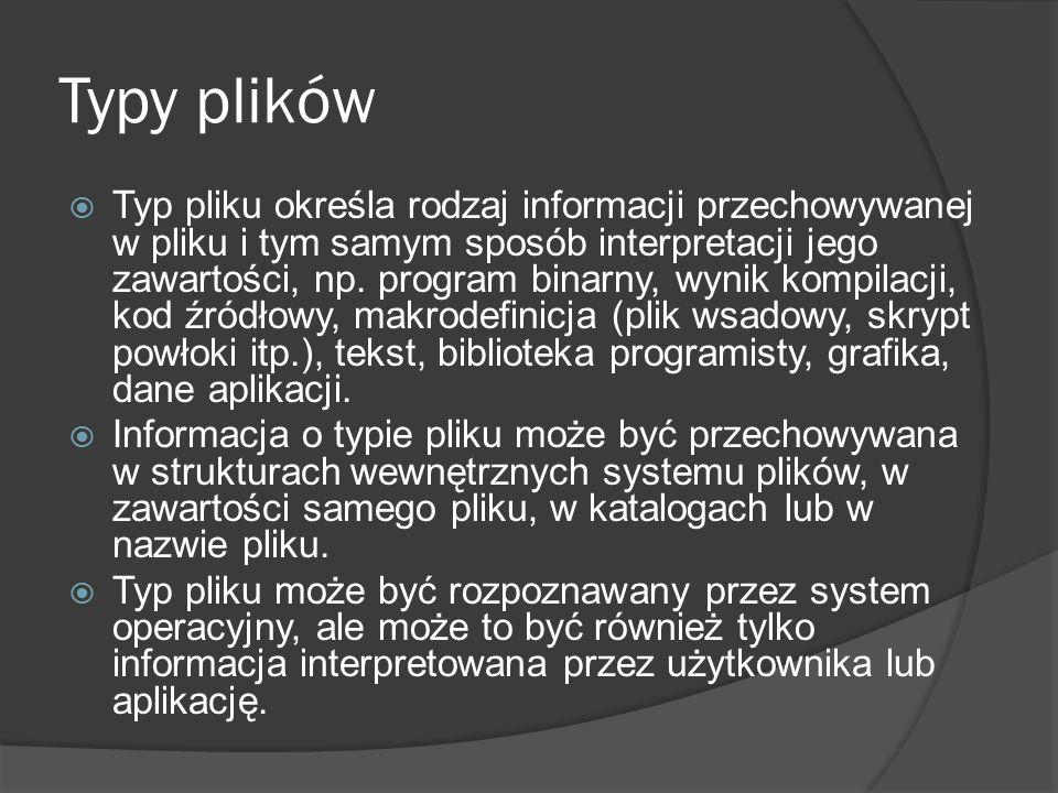 Typy plików