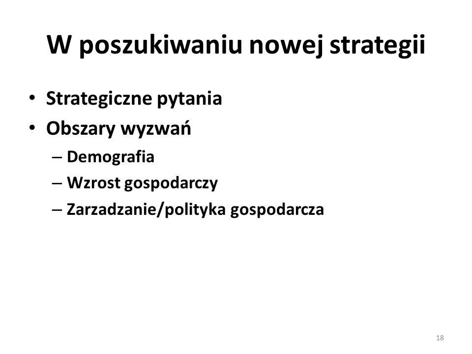 W poszukiwaniu nowej strategii
