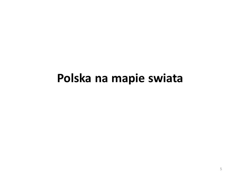 Polska na mapie swiata