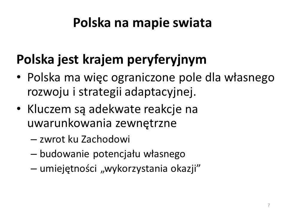 Polska jest krajem peryferyjnym
