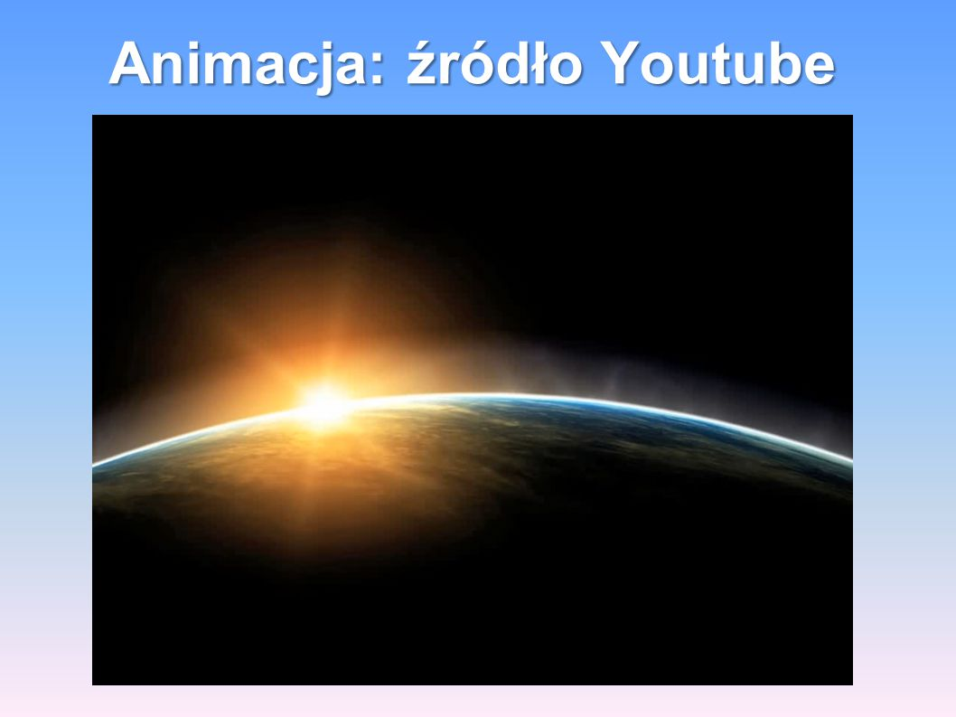 Animacja: źródło Youtube