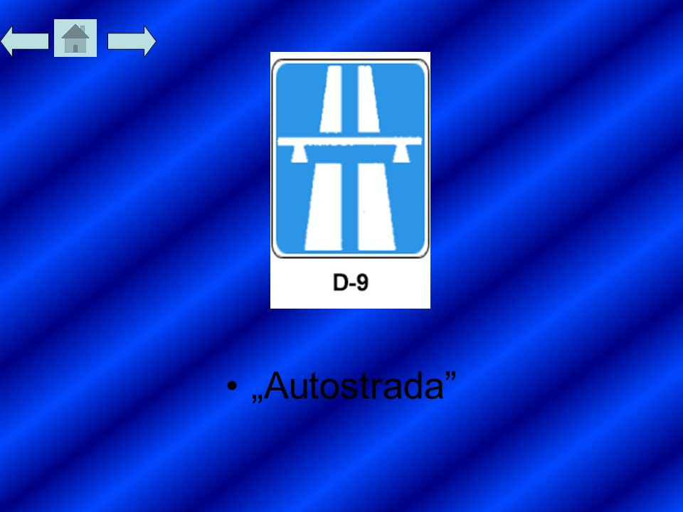 """Autostrada"