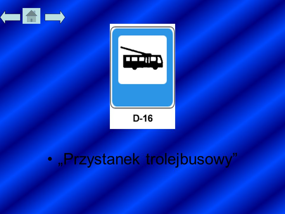 """""""Przystanek trolejbusowy"""