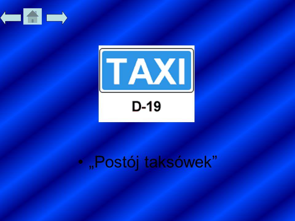 """Postój taksówek"