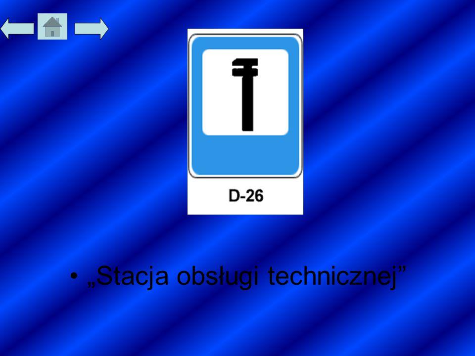 """""""Stacja obsługi technicznej"""