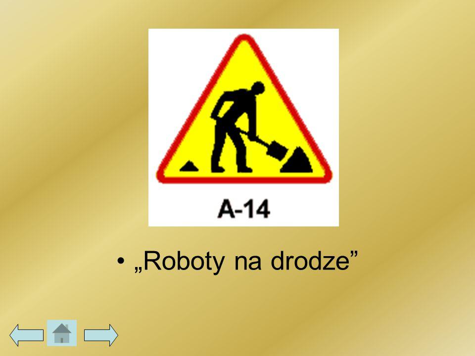 """""""Roboty na drodze"""