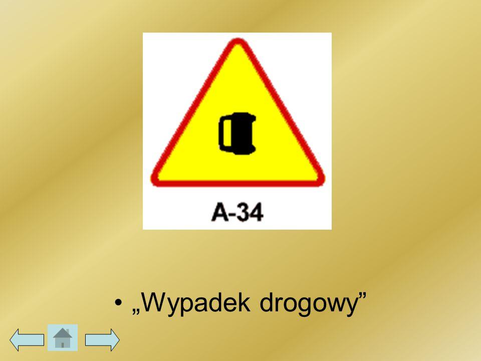 """""""Wypadek drogowy"""