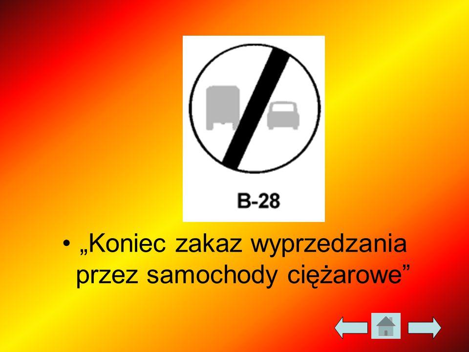 """""""Koniec zakaz wyprzedzania przez samochody ciężarowe"""