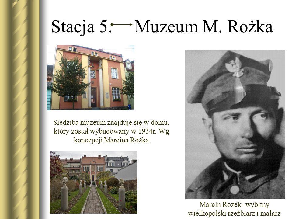Marcin Rożek- wybitny wielkopolski rzeźbiarz i malarz
