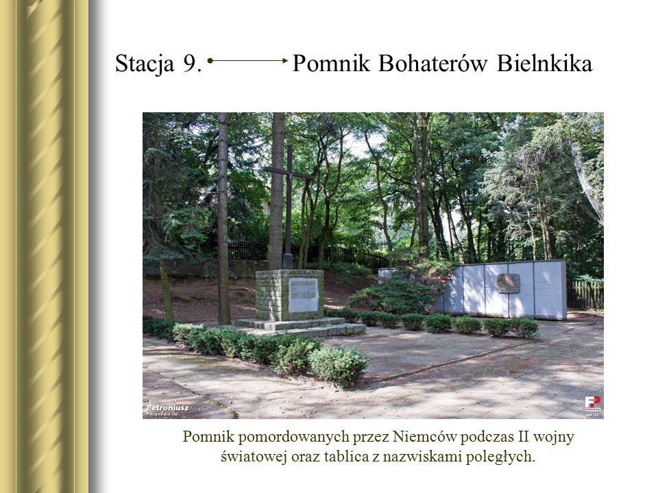 Stacja 9. Pomnik Bohaterów Bielnkika
