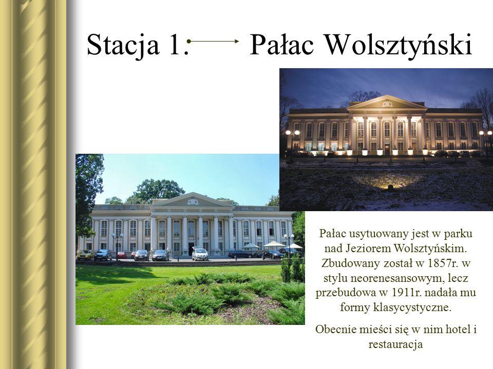 Stacja 1. Pałac Wolsztyński