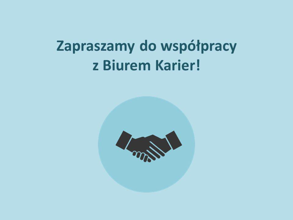Zapraszamy do współpracy z Biurem Karier!