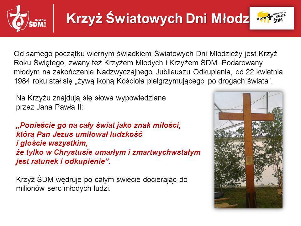 Krzyż Światowych Dni Młodzieży