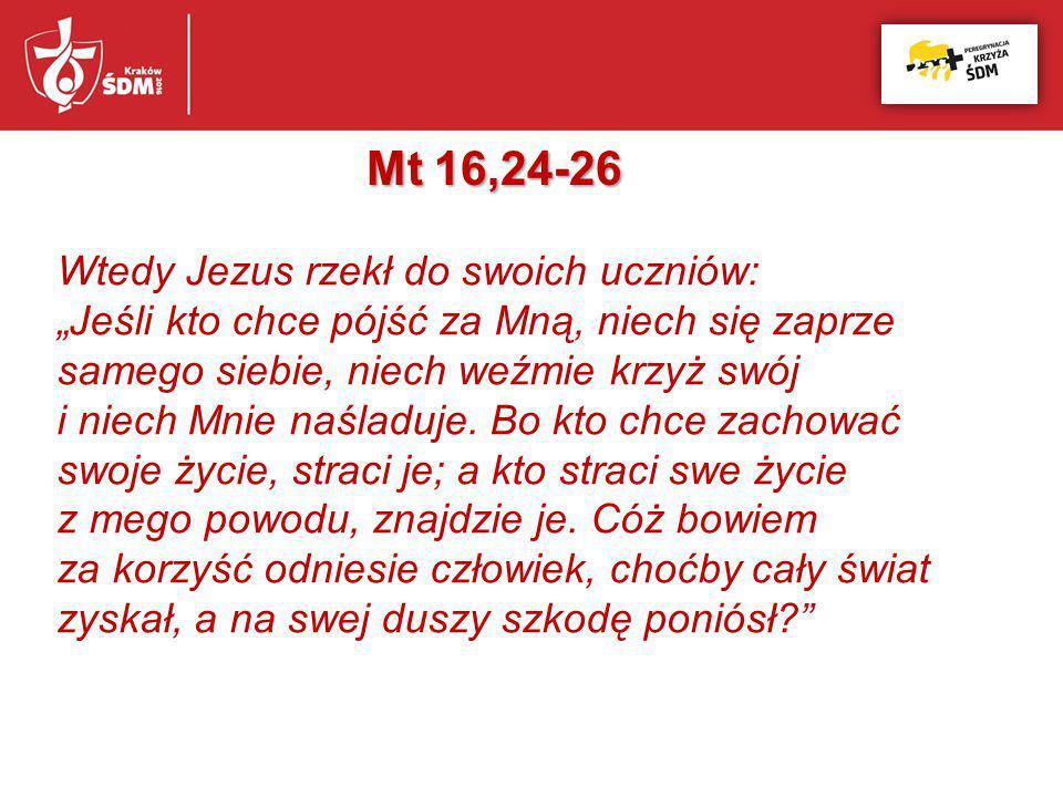 Mt 16,24-26