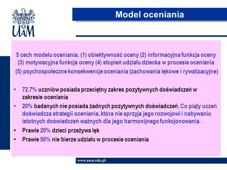 Model oceniania