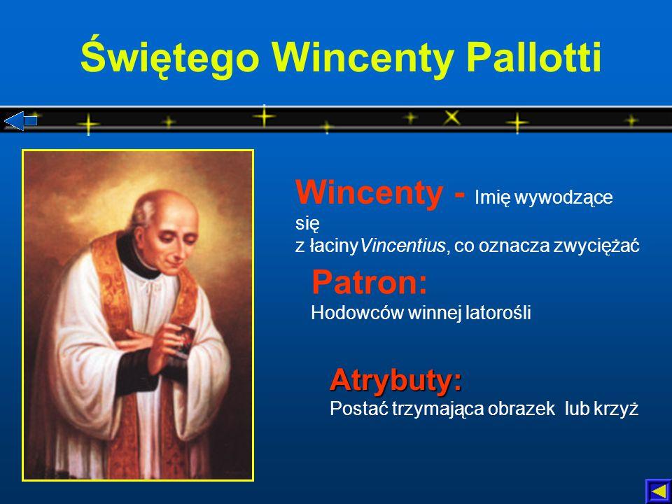 Świętego Wincenty Pallotti