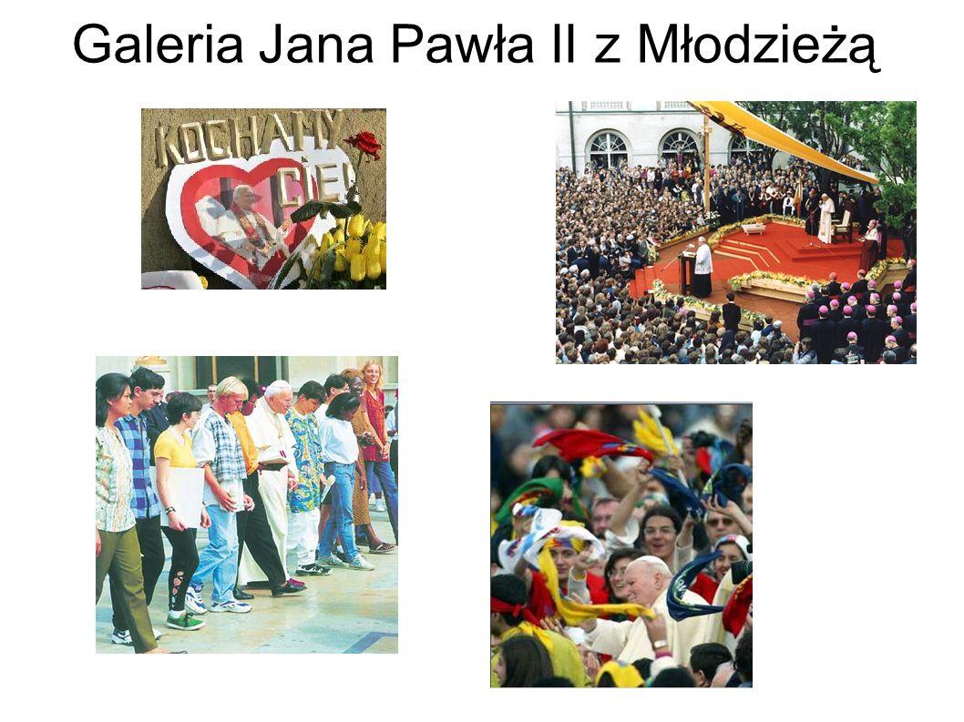 Galeria Jana Pawła II z Młodzieżą