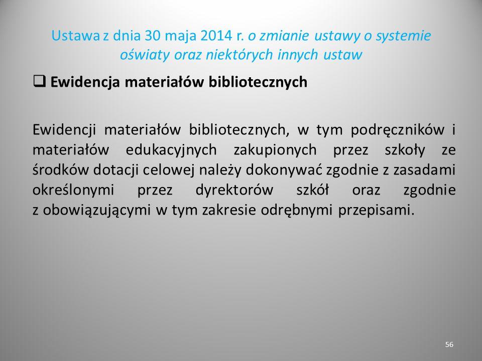 Ewidencja materiałów bibliotecznych