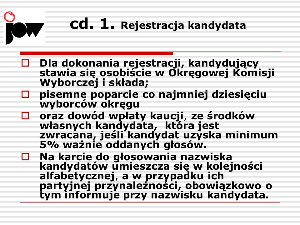 cd. 1. Rejestracja kandydata