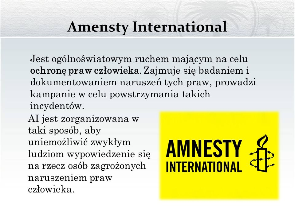 Amensty International