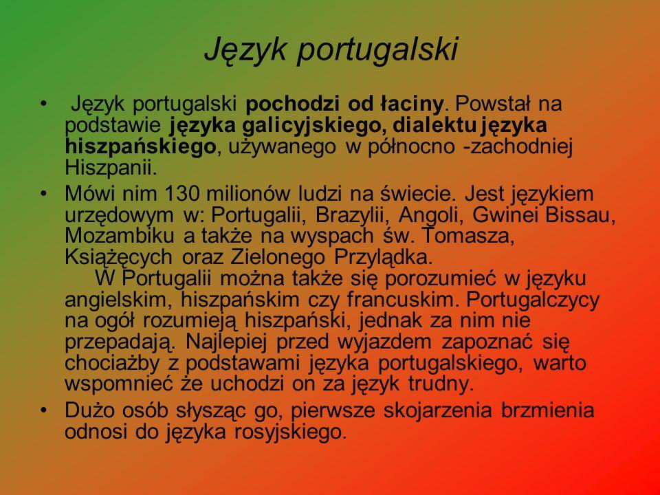 Język portugalski